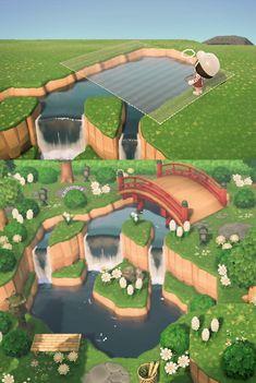 Animal Crossing Wild World, Animal Crossing Guide, Animal Crossing Qr Codes Clothes, Animal Crossing Villagers, Animal Crossing Pocket Camp, Ac New Leaf, Motifs Animal, Island Design, Island Life