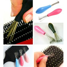 Durable Mini Useful 1PC Hot Sales Comb Hair Brush Cleaner Embeded Tool Home Essential Color Randomly-in Cleaning Brushes from Home & Garden on Aliexpress.com | Alibaba Group