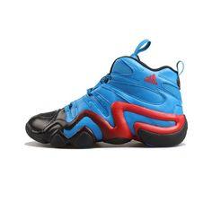 sports shoes ef5b3 6c27d ADIDAS CRAZY 8 KOBE BASKETBALL BLUE BLACK RED AQ8263 US160 Kobe  Basketball, Crazy 8