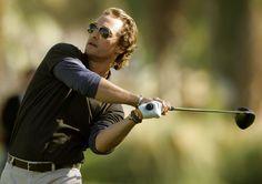 Matthew McConaughey makes golfing exciting