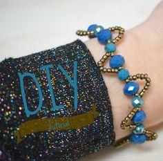 Wavy bracelet - armbandjesmaken.com