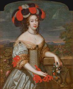 Anne-Marie-Louise d'Orléans, dite La Grande Mademoiselle by Louis Ferdinand Elle (auctioned by Christie's) | Grand Ladies | gogm