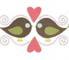 Bird Love Stitched 5_5 Inch