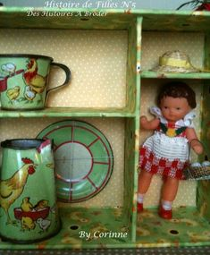 coco copie Tiny Dolls, Old Dolls, Dora, Rubber Doll, Doll Display, Reborn, Tin Toys, Antique Toys, Miniature Dolls
