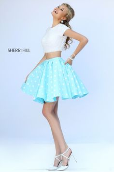 Polka Dot 32247 Sherri Hill - Dresses