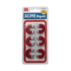 Acme Magnets Set of 6 - Refrigerator Magnets