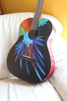 Looking for a beautiful instrument that is as unique as your music? Or maybe a personal, one of a kind gift? These guitars are just the