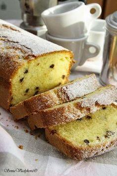 Unavená vařečka: Plumcake Delicious Desserts, Yummy Food, Sponge Cake, Food Hacks, Sweet Recipes, Tea Time, Banana Bread, French Toast, Food And Drink