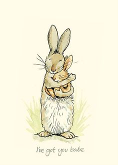 I've got you babe by Anita Jeram