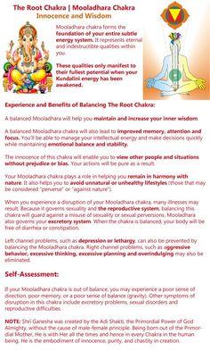The benefits of balancing the root chakra.