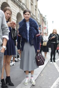 London Fashion Week LFW Street Style Kuba Dabrowski