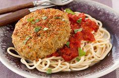 eggplant parmesan - use with speghetti squash