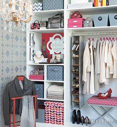 Walk in closet chanadlier and storage ideas by homesense - Get inspired Master Closet, Closet Bedroom, Closet Space, Bedroom Stuff, Girl Closet, Dressing Room Closet, Dressing Room Design, Dressing Rooms, Homesense