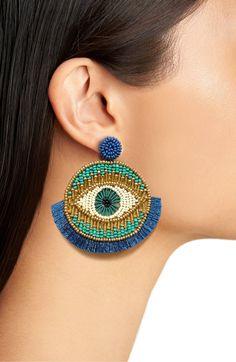 Unique Earrings, Tassel Earrings, Crochet Earrings, Drop Earrings, Unique Jewelry, Felt Crafts Diy, Collor, Neck Piece, Fashion Jewellery