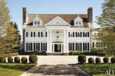 Georgian-Inspired Estate in Greenwich, Connecticut