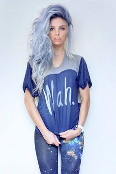 Can't get over this Pastel Blue Hair!