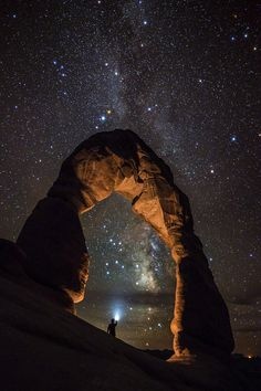 Loved being at the arches and star gazing!