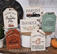 Sign Stencils, Wood Tags, Fall Signs, Fall Wood Signs, Holiday Signs, Diy Décoration, Fall Diy, Fall Crafts, Fall Craft Fairs