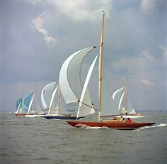 Sailing on the sea. Hopefully Linz and I will be able to do this one day!