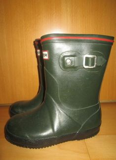 * * * HUNTER Gummistiefel grün, Gr.25 * * * Hunter Boots, Rubber Rain Boots, Shoes, Ebay, Fashion, Clothing Accessories, Boys, Moda, Shoe