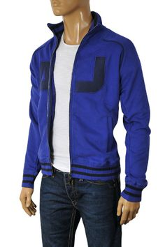 ARMANI JEANS Mens Zip Up Cotton Jacket #113; $139.99   http://www.primerunway.com/ARMANI-JEANS-Mens-Zip-Up-Cotton-Jacket-113?cPath