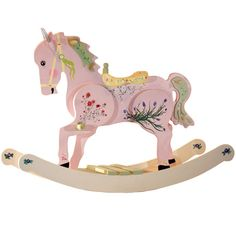 Rose Rocking Horse from PoshTots
