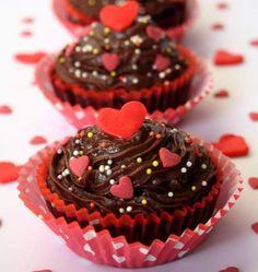Cupcakes de la Saint-Valentin - les meilleures recettes de cuisine d'Ôdélices