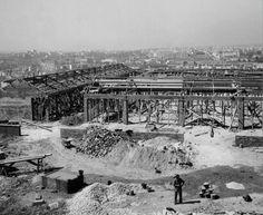 Construção do Mercado de Arroios - 1956