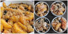 Loacker Quadratini Peach Blueberry Cobbler #PureIngredients