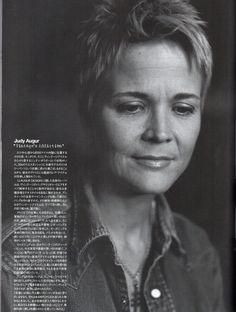 "Judy Augur interview ""HUGE"" magazine, Japan. c. 2007"