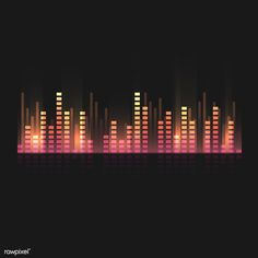 Colorful sound wave equalizer vector design | free image by rawpixel.com Music Waves, Sound Waves, Couple Kissing Pics, Vector Design, Graphic Design, Wallpaper Backgrounds, Wallpapers, Kiss Pictures, Digital Art Tutorial