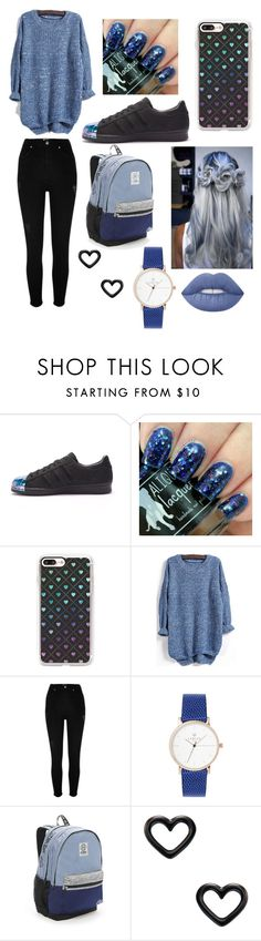 """Senza titolo #27"" by mariele-accardo ❤ liked on Polyvore featuring adidas, Casetify, River Island, Victoria's Secret, Marc by Marc Jacobs and Lime Crime"