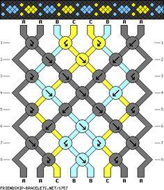 8 strings 8 rows 3 colors