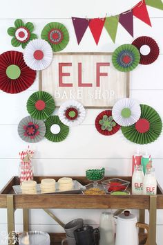 Elf Cookie Station - Over the Big Moon