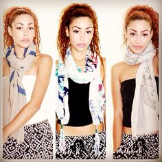 Stock on scarves this fall! http://plushcloth.com/collections/scarfs