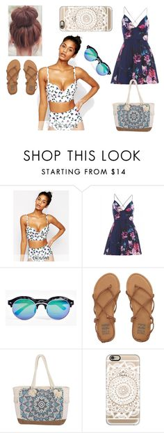"""""""Summer is coming"""" by eleonora199 on Polyvore featuring Whistle & Wolf, AX Paris, Boohoo, Billabong and Casetify"""