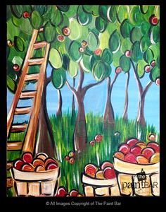 Apple Orchard Painting - Jackie Schon, The Paint Bar