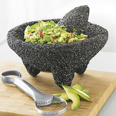 gadets for mexican cooking | Molcajete - Authentic Mexican Mortar and Pestle