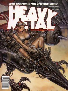 Oscar Chichoni Heavy Metal cover