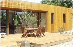 Une maison en bois dans les Landes