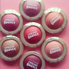 Maybelline Dream Bouncy Blush. I bought this in Hot Tamale thinking I'm fair skin, probably isn't going to work. I've bought almost every single blush out there, this is the only one that works for me. Love this stuff!!!!