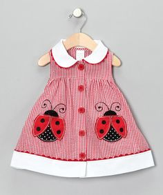 Some days, I wish I had another baby girl to dress in cute lady bug stuff!