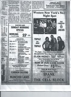 Mancuso Lanes and Cell Block, 1975