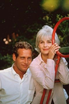 Paul Newman and Joanna Woodward