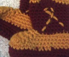 crochet cowboy baby Botties