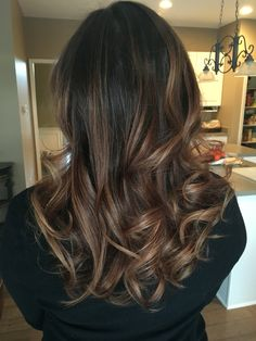 Balayage medium brown - Thank you Salon Bliss!