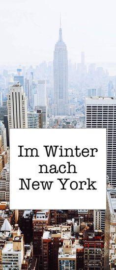 Im Winter nach New York: Hier sind 5 Tipps - Flight, Travel Destinations and Travel Ideas Europe Destinations, Holiday Destinations, New York Trip, New York Travel, New York Winter, Christmas Travel, Holiday Travel, New York Christmas, Christmas Shopping