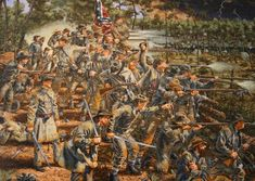 The Battle of Atlanta was a battle of the Atlanta Campaign fought during the American Civil War on July 22, 1864, just southeast of Atlanta, Georgia.[5] Continuing their summer campaign to seize the important rail and supply center of Atlanta, Union forces commanded by William T. Sherman overwhelmed and defeated Confederate forces defending the city under John B. Hood. Union Maj. Gen. James B. McPherson was killed during the battle.