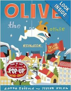 Olive, the Other Reindeer: Vivian Walsh, J.otto Seibold: 9780811857192: Amazon.com: Books