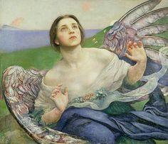 Gift of sight by Annie Louisa Swynnerton (1844-1933)